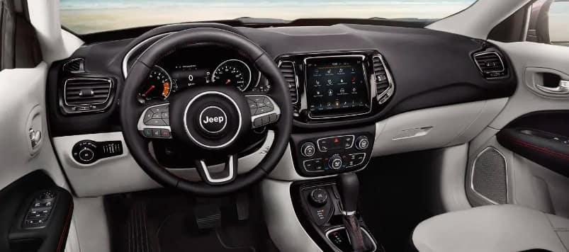 2019 Jeep Compass SUV Interior