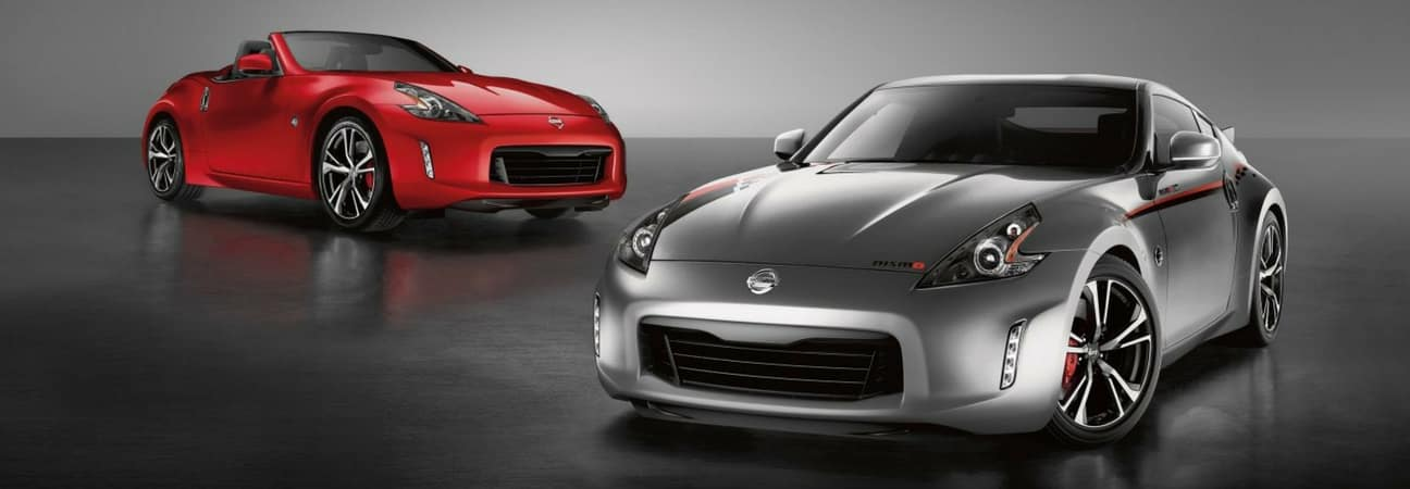 2017 Nissan 370Z coupe and convertible Miami Florida