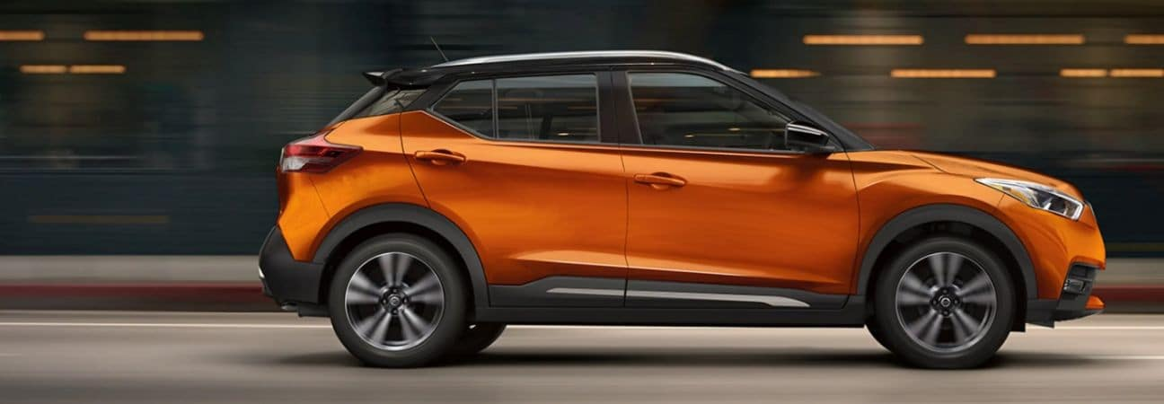 2019 Nissan Kicks orange SUV