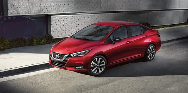 <center>New 2020 Nissan Versa S</center>