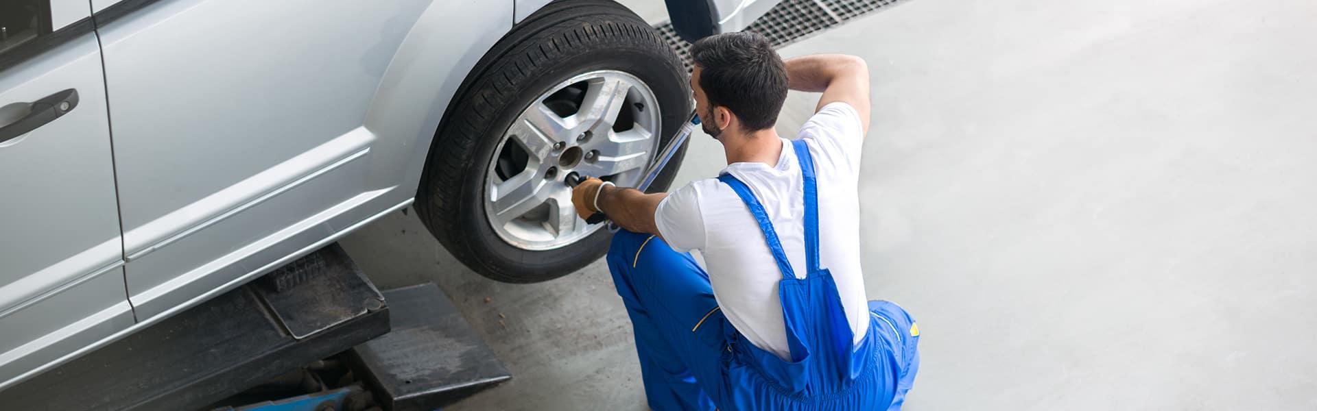 Nissan Tire Service in Miami, Florida
