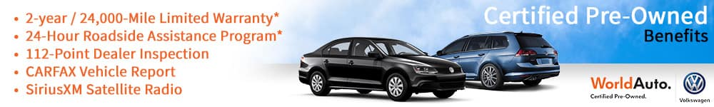 Certified Pre Owned Volkswagens at Palmetto57 VW in Miami, FL