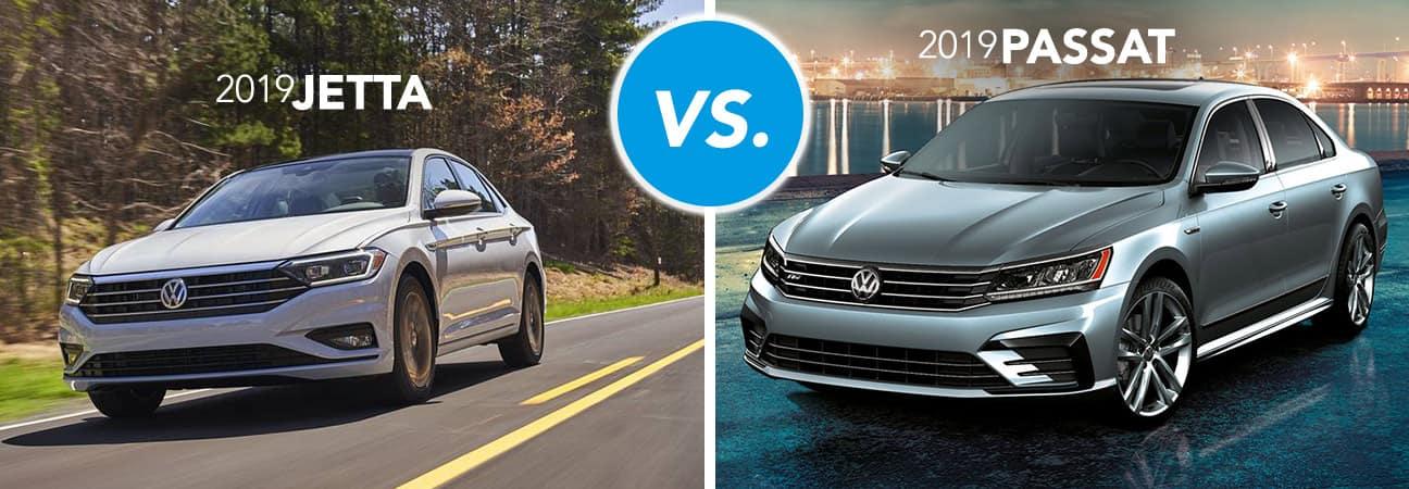 Volkswagen Jetta vs Passat comparison