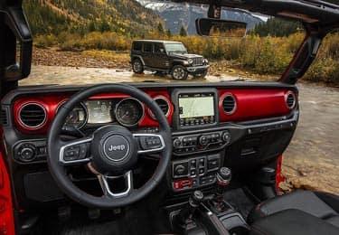 jeep jk interior