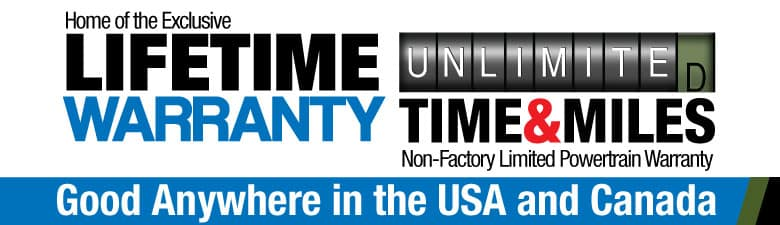 Get the Unlimited Lifetime Warranty, only at Paulding CDJR