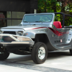 This innovative water Jeep® takes after the Wrangler in appearance