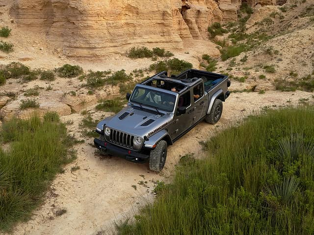 Get a Jeep Trail Rated SUV and conquer the wildnerness