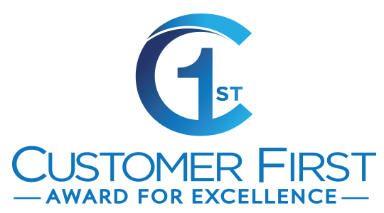 2019 Customer First Award of Excellence Logo
