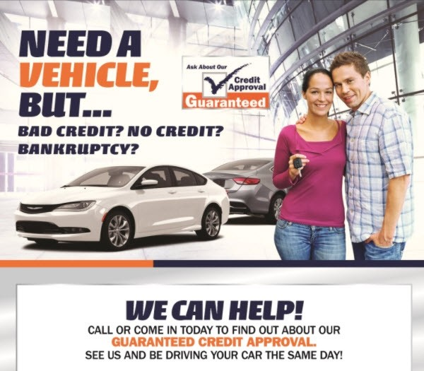 Guaranteed Credit Approval Peake Wayne County Ny