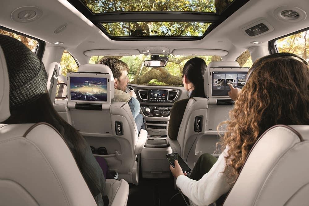 Chrysler Pacifica Interior Space