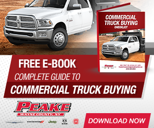 Commercial Truck Buying Checklist eBook.