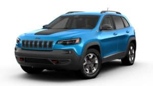 2019 Jeep Cherokee Hydro Blue Review