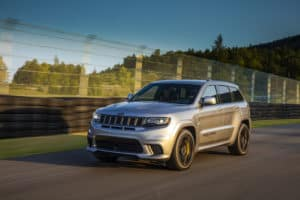 Jeep® Grand Cherokee Trackhawk Off Roading Capabilities
