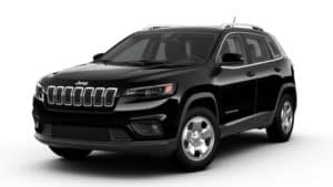 Jeep Cherokee Diamond Black Crystal