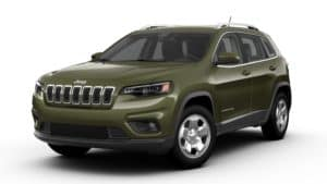 Jeep Cherokee Latitude AWD Olive Green Pearl Coat
