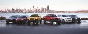 2019 Jeep Vehicles