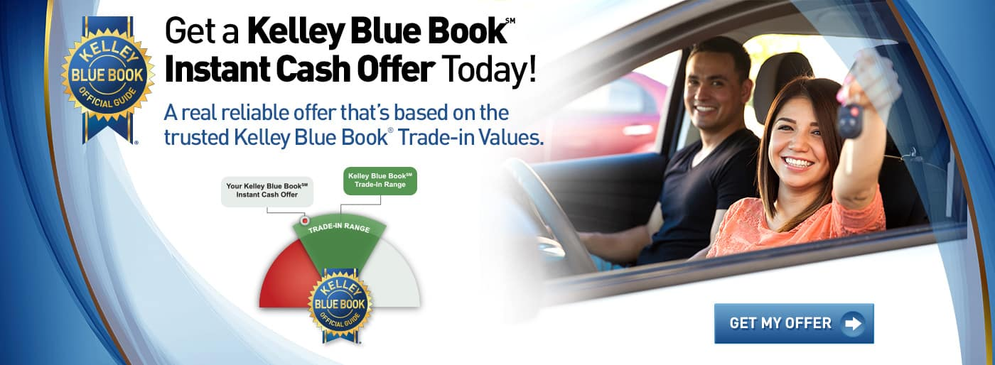 Get a Kelly Blue Book Instant Cash Offer today