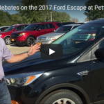 October 2017 Rebates 2017 Ford Escape
