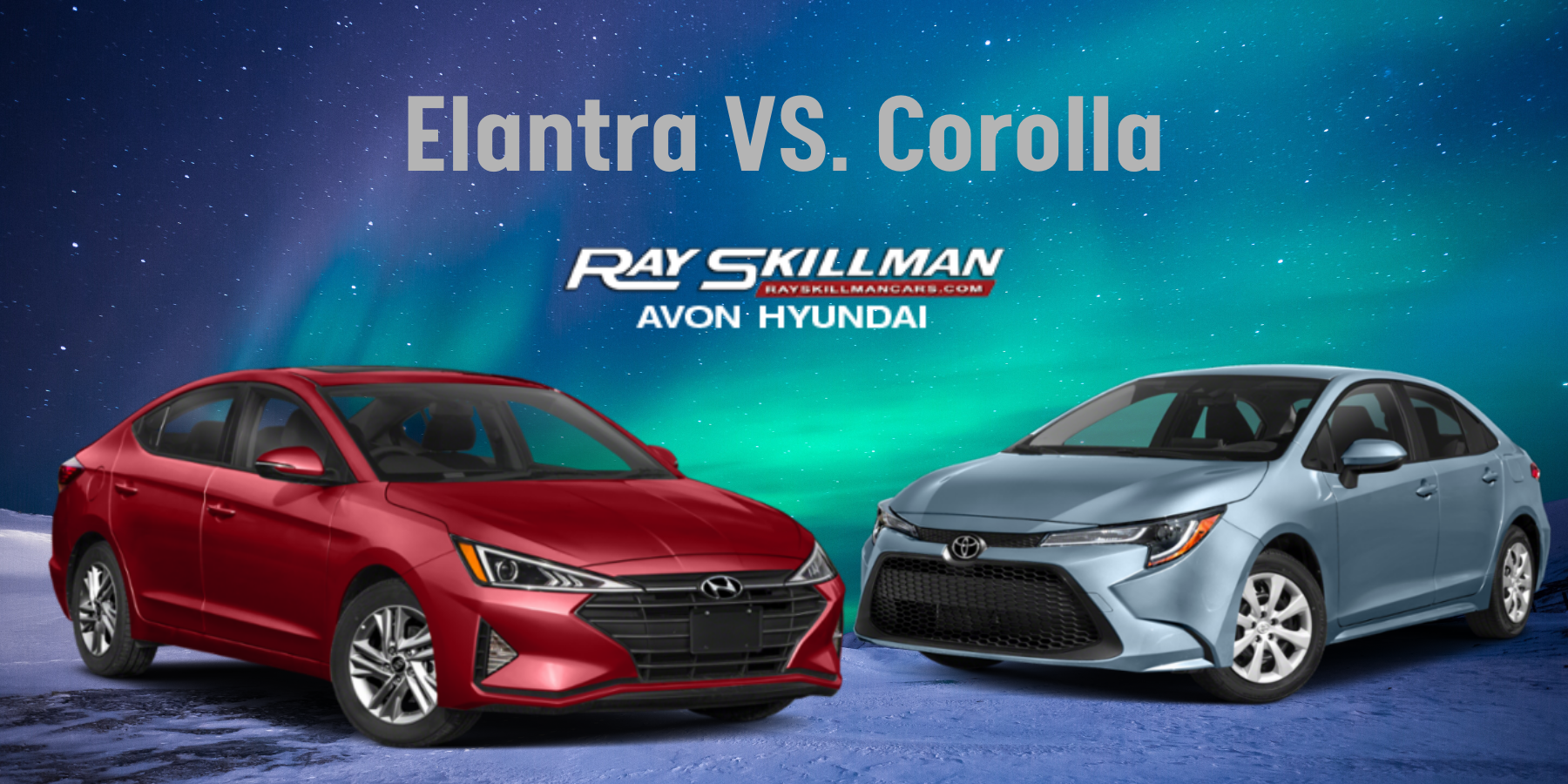 Hyundai Elantra vs Toyota Corolla Avon IN