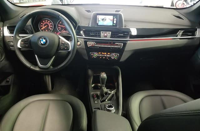 Dashboard of used BMW