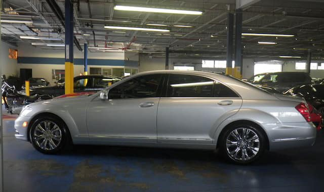 2010 MB S400 Hybrid Silver