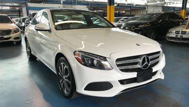 2015 MB C300 White