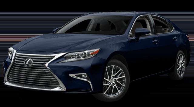 2017 Lexus ES Blue