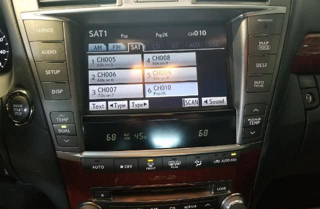 2014 Lexus Enform Touchscreen