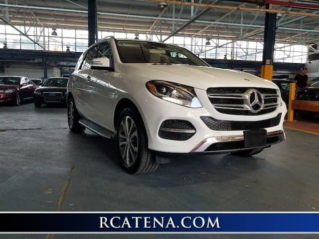 2016 Mercedes-Benz GLE front exterior