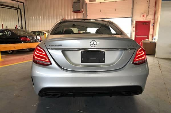2017 Mercedes-Benz AMG C 43 Rear