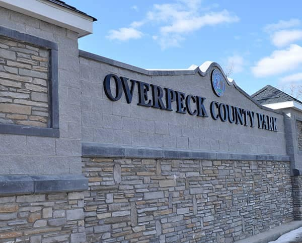 Overpeck Park Sign