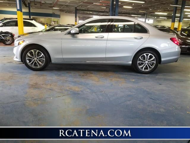 Pre-Owned 2015 Mercedes-Benz C 300 Base AWD exterior side view