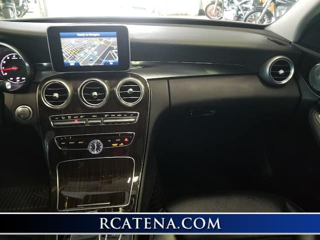 Pre-Owned 2015 Mercedes-Benz C 300 Base front interior