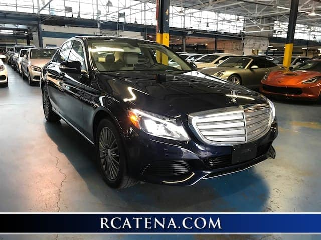 Pre-Owned 2015 Mercedes-Benz C 300 front exterior