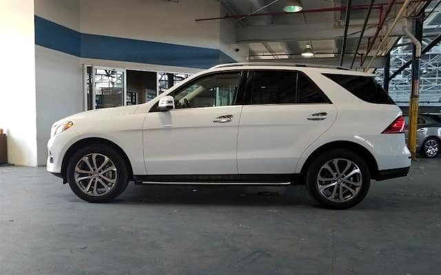 Pre-Owned 2016 Mercedes-Benz GLE 350 AWD white exterior model