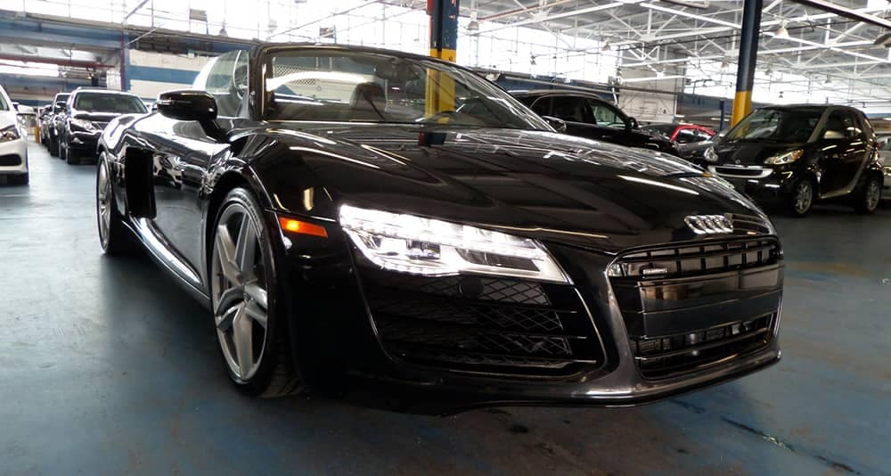 2014 Black Audi R8