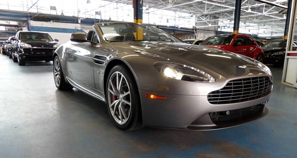 2014 Gray Aston Martin