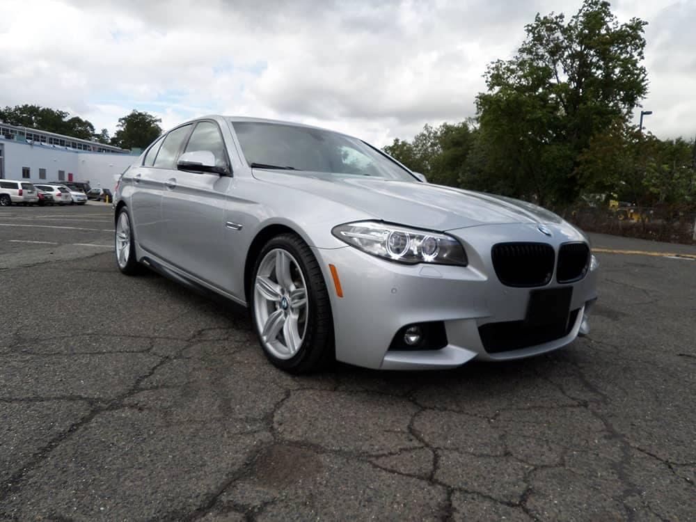 2015 BMW 5 Series Silver