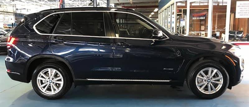 2015 BMW X5 Blue