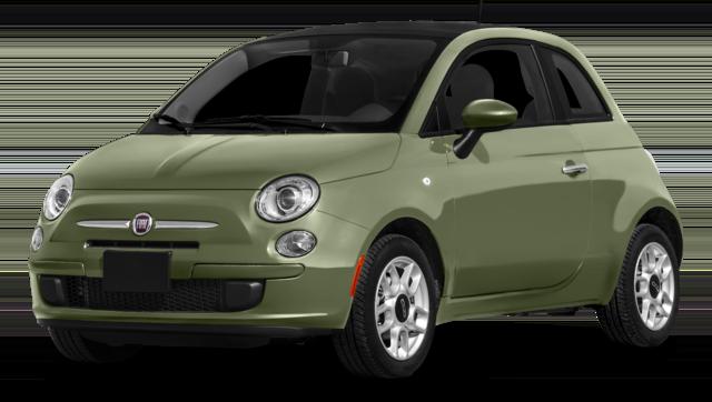 2016 Fiat 500 Green