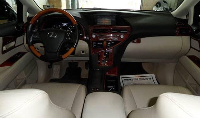 Pre-Owned Lexus RX 350 Interior