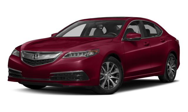 2017 acura tlx red exterior model