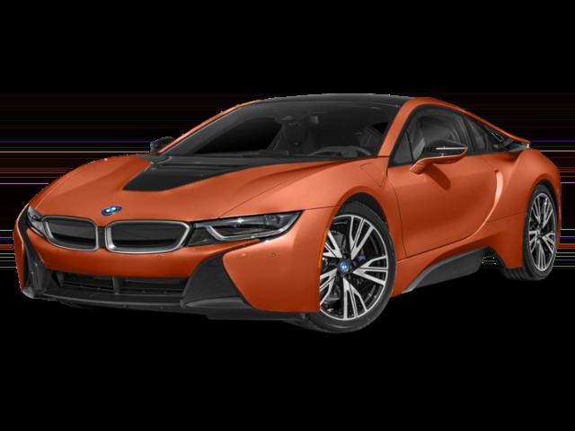 2019 BMW i8 Angled