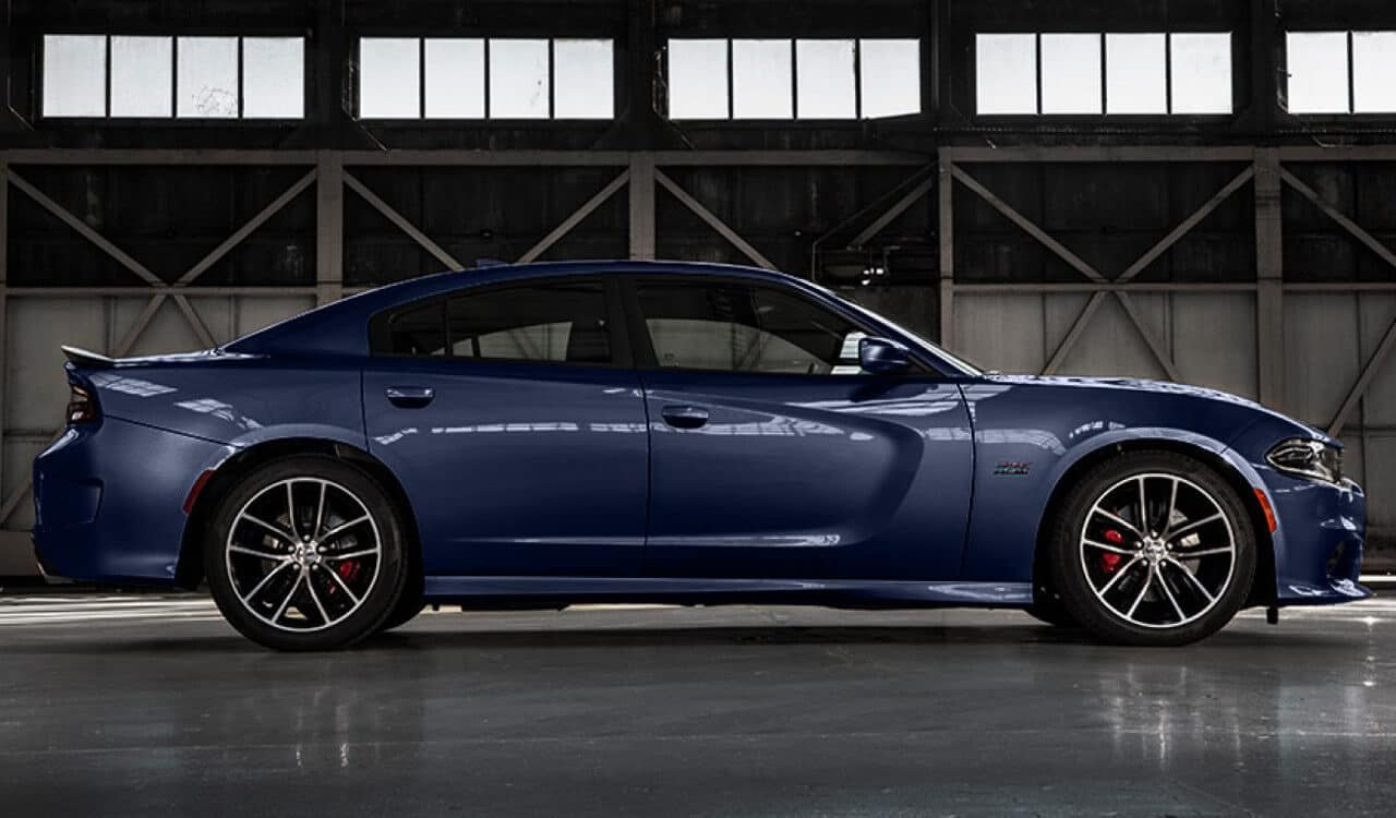 2017 Dodge Charger Side Profile