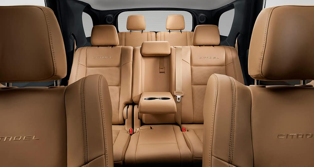 2017 Dodge Durango Interior Beige leather
