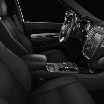 2017 Dodge Durango Interior Front seats