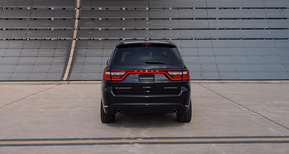 Dodge Durango Rear View