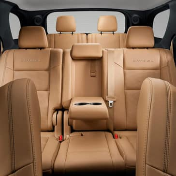 Dodge Durango Leather Interior
