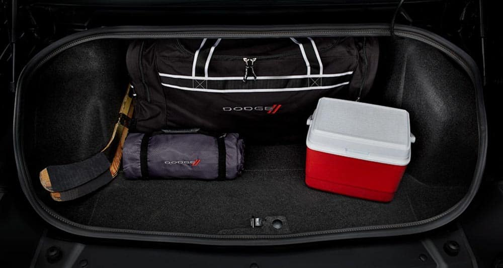 2018 Dodge Challenger Trunk space