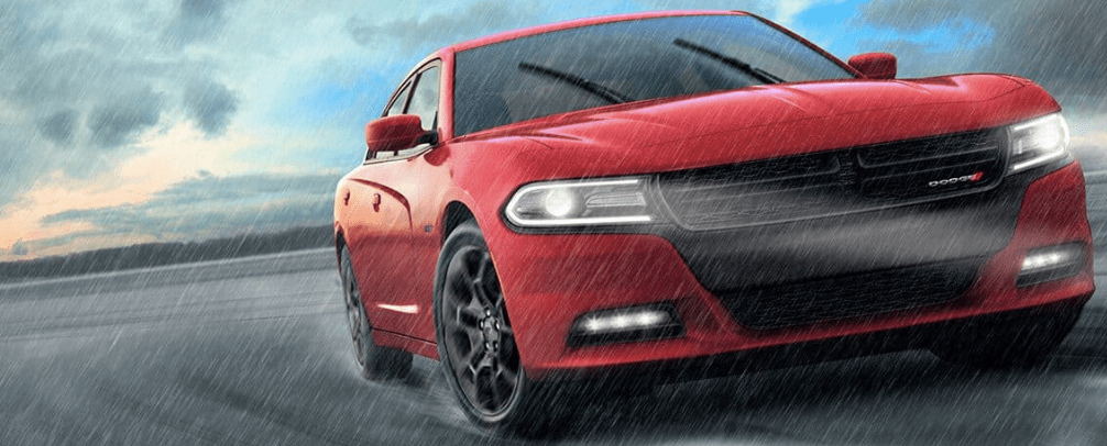 2019 Dodge Charger on the Track